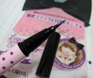 eyeliner, gyaru, and kawaii image