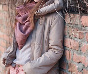 coat, girl, and style image