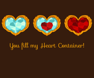 gaming, hearts, and link image