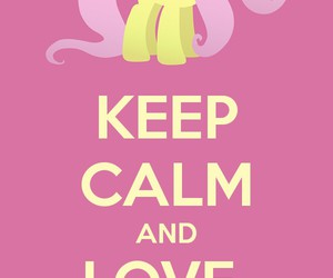 animals, keep calm, and pink image