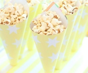 popcorn and yellow image