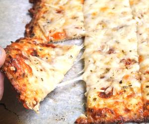food, pizza, and garlic image