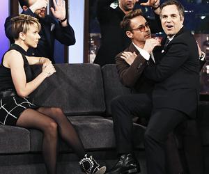 chris evans, Scarlett Johansson, and mark ruffalo image