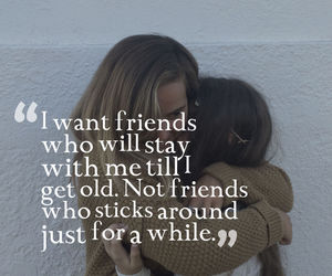 tumblr, friendship, and quotes image