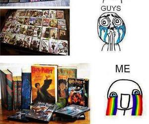 harry potter, books, and girls image