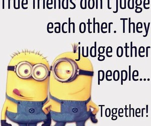 friends, minions, and quotes image