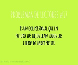 harry potter, lector, and libros image