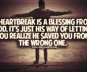 heartbreak, blessing, and god image