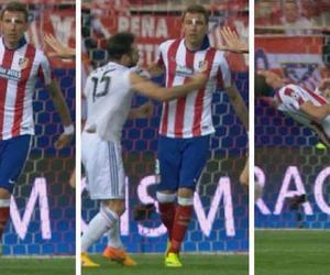 real madrid, atletico madrid, and mario mandzukic image
