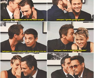 chris evans, mark ruffalo, and robert downey jr image