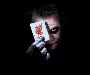 cards, joker, and Liverpool image