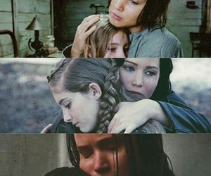 the hunger games, Jennifer Lawrence, and sisters image