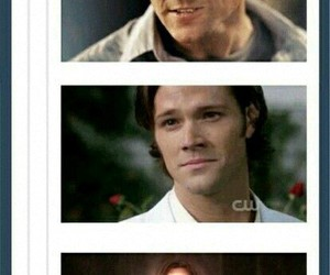 lucifer, sam winchester, and spn image