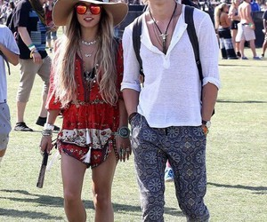 coachella, boy, and couple image