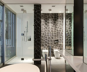 bathroom, luxury, and modern image