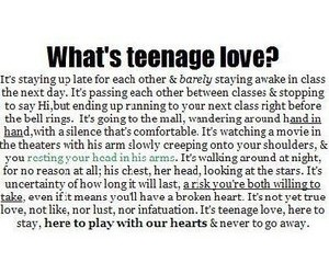 teenage love image