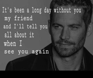 paul walker, song, and see you again image