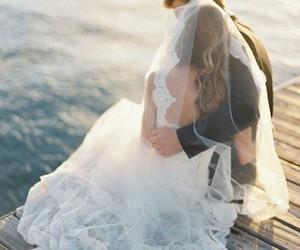 love, couple, and wedding image