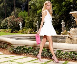 lookbook, white dress, and lulus image