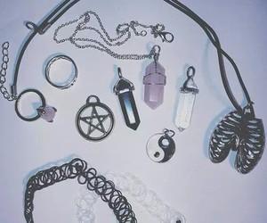 grunge, necklace, and choker image