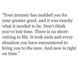 journey, quote, and true image