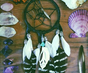dream catcher and vintage image