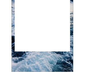 beach, frame, and overlay image