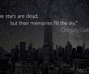 sky, memories, and stars image