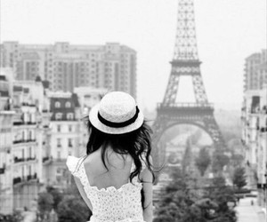 paris, girl, and dress image