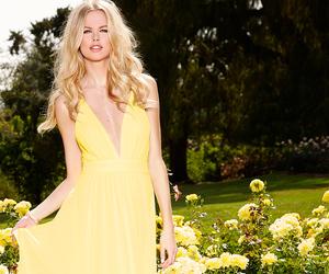 garden, lookbook, and yellow image