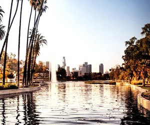 city, los angeles, and park image