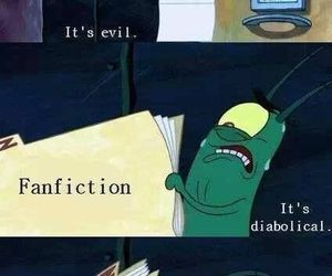 fanfiction, funny, and lol image