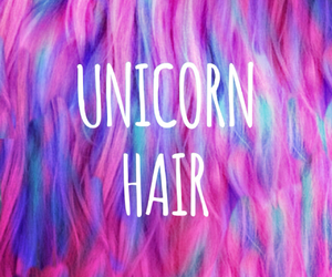 hair, pink, and multicolor image