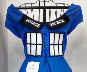 doctor who, dress, and fashion image