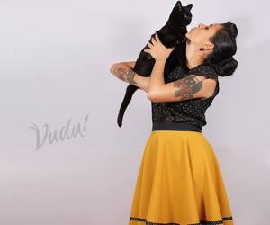 blackcat, cat, and vuduloja image