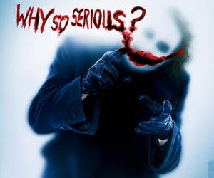 joker, batman, and why so serious image