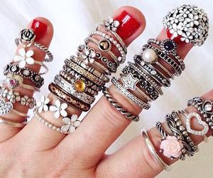 cool, rings, and pandora image