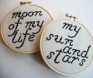 quotes, brown, and moon image