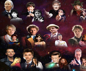doctor who, companions, and all doctors image