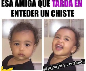 amiga, funny, and spanish image