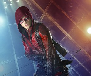 arrow, Arsenal, and justice league image