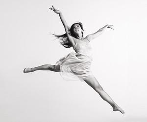 dance, dancer, and dress image