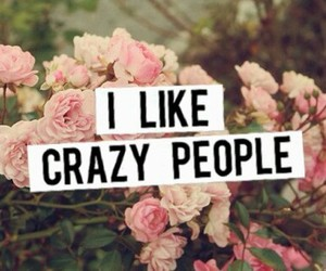 crazy, people, and flowers image