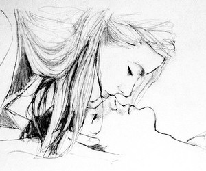 amor, drawing, and cute image