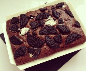oreo, chocolate, and cake image