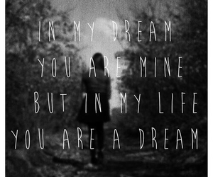 Dream, grunge, and quotes image