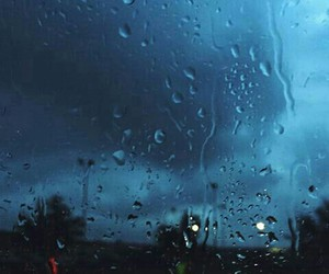 grunge, lonely, and rain image