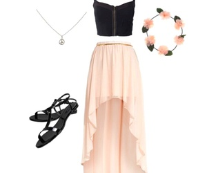 dresses and shoes image