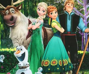 disney, frozen fever, and anna image