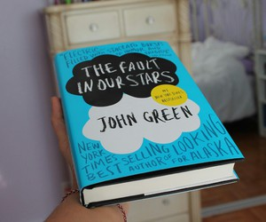 bedroom, books, and john green image